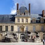 Escalier en fer à cheval - Chateau de Fontainebleau