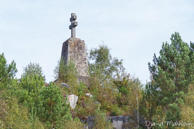 Croix de lorraine de la roche - Massif des 3 Pignons