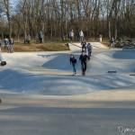 Aire de glisse pour trotinette, BMX, skate