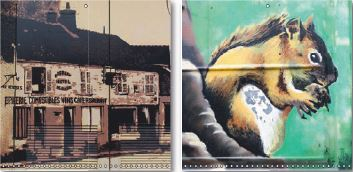 Peintures murales de Bois le Rois - 77590