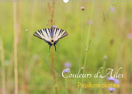 Couleurs d'Ailes - Calendrier photos de papillons de France