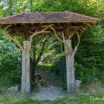 Portail de l'ancien restaurant de Franchard - Forêt de Fontainebleau