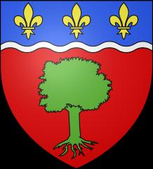 Blason de Bois le Roi (77590) Seine et Marne