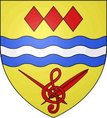 Blason de Bourron-Marlotte (Seine-et-Marne) - Auteur Spedona