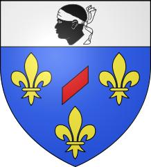 Blason de Moret-sur-Loing (Seine-et-Marne) - Auteur Spedona