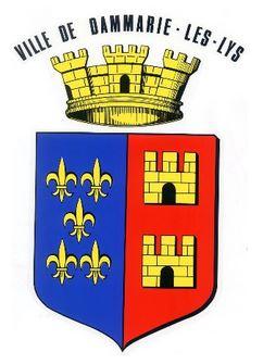 Blason Dammarie-les-lys (Seine-et-Marne) - Auteur spax89
