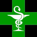 Enseigne de la pharmacie (caducée)