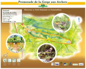 Promenade de gorge aux archets - Forêt de Fontainebleau