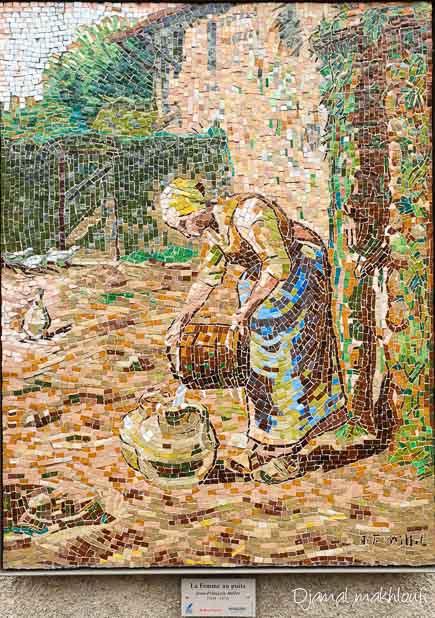 La femme au puits (Jean-François Millet)