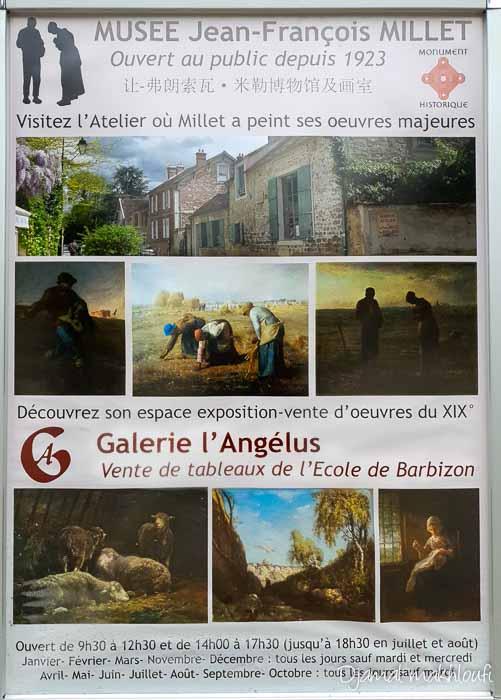 Musée Jean-François Millet - Galerie de l'Angelus (Barbizon)